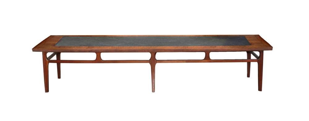 Teak mid century modern coffee table