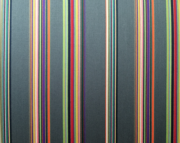 "Paul Smith ""Bespoke Stripe"" upholstery fabric for Maharam"