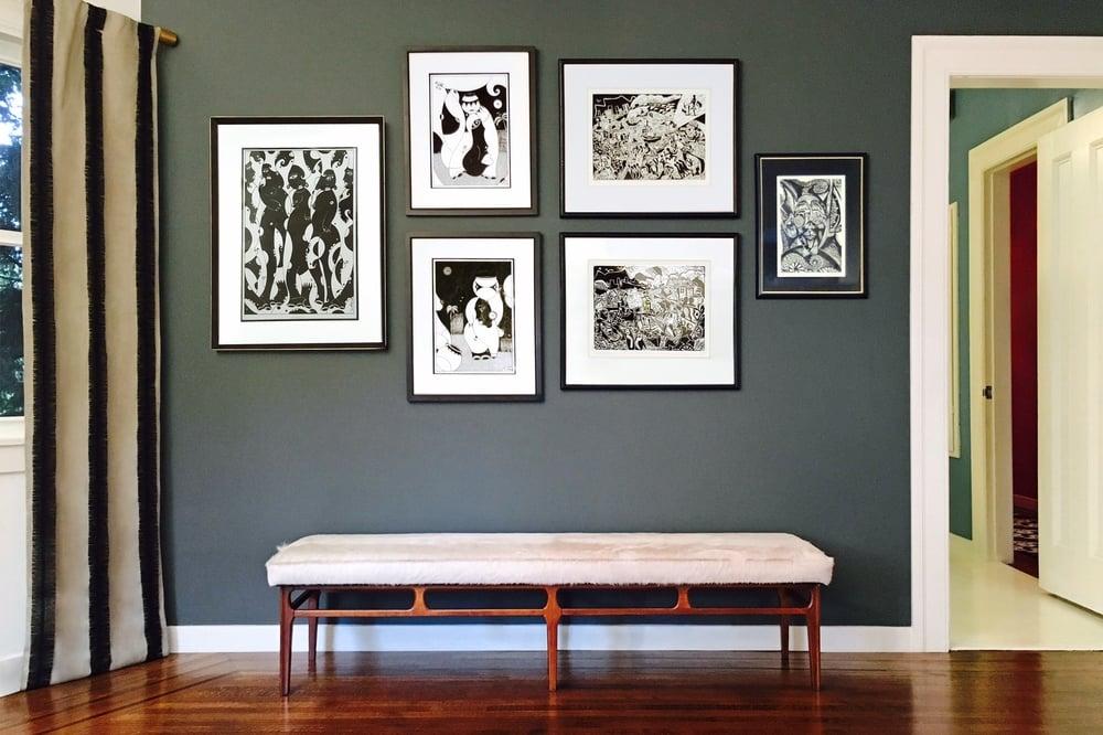 Restoring a vintage coffee table San Francisco Bay Area and Los Angeles