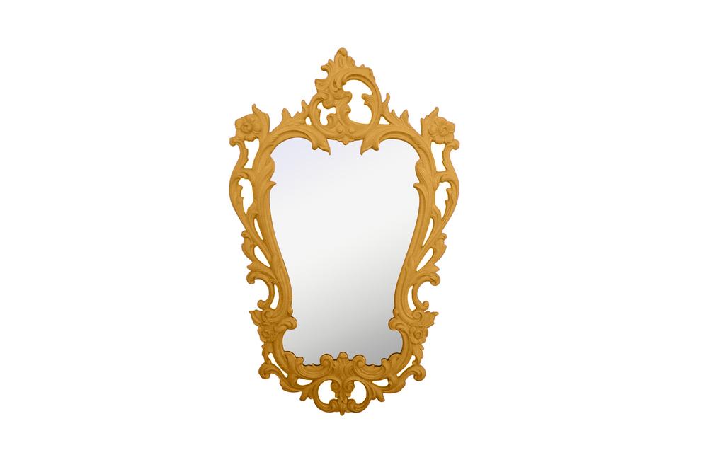 vintage rococo mirror
