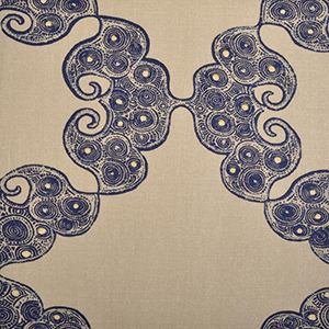 "Duralee Fabric ""JKNVA INDIGO 21036 - 193"""