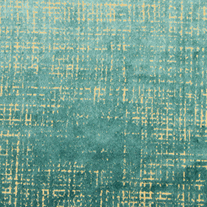 "Dwell Studio ""Etched Velvet Fabric Green"""