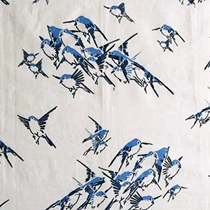 "Tania Vartan ""Japanese Sparrows"""