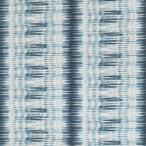 "Thibaut Designs ""IKAT STRIPE, Teal - Blue"""
