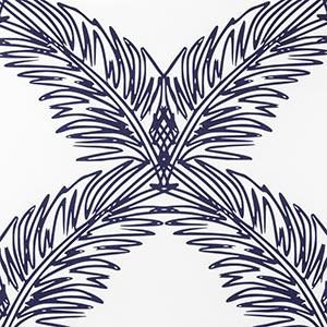"Victoria Larsen Textiles ""Palm Trellis"""