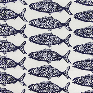 "Victoria Larson Textiles ""Shool of Fish"""