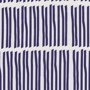 "Victoria Larson Textiles ""Sticks Navy"""