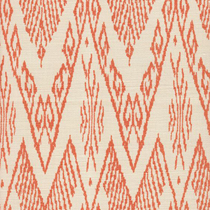 "Eades Wallpaper & Fabric ""Raffles in Peach on Tint from China Seas"""