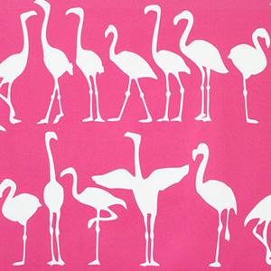 "Victoria Larson ""Flamingo Parade"""