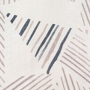 "Rebecca Atwood ""Mixed Stripe Gray in Wood"""