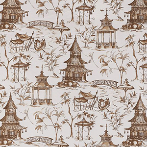 "Lacefield Designs ""Chinoiserie Pagodas"""
