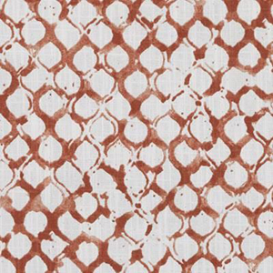 "Sata Coral Small Duralee ""Scale Fabric Pattern 