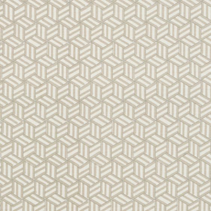 "Schumacher ""TUMBLING BLOCK Miles Redd fabric"""