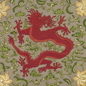 "Scalamandre ""Chien Dragon"""