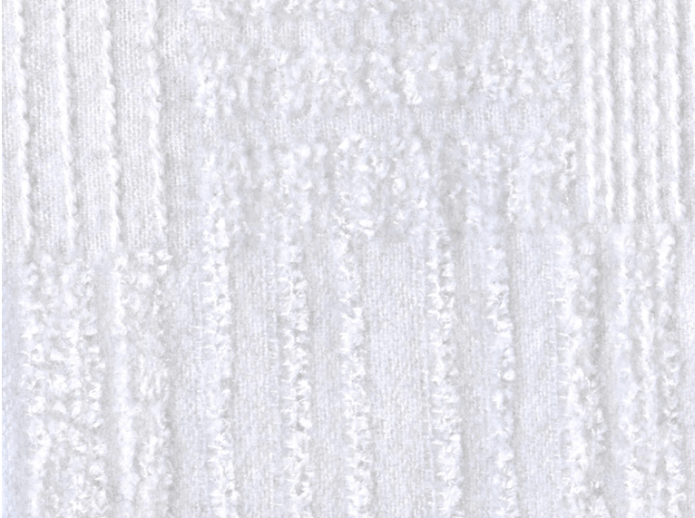Holland and Sherry Poncho stain resistant upholstery fabric in Blanco color