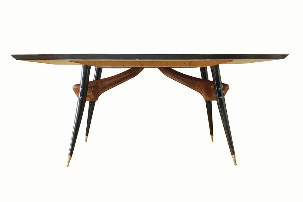 Vintage Gio Ponte Style Dining Table