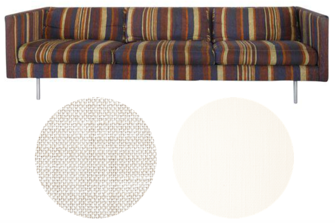 Serena & Lily + Perennials upholstery fabrics