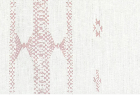 Penny Morrison Upholstery Fabric | Indira Stripe in Pink
