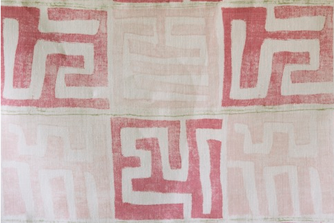 Penny Morrison Upholstery Fabric | Kenil in Pink
