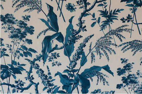 Penny Morrison Upholstery Fabric | Aspa in Petrol