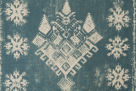 Penny Morrison Upholstery Fabric | Athens in Blue