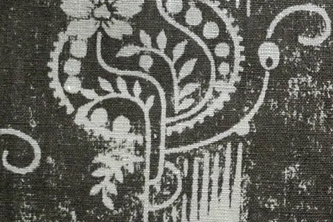 Penny Morrison Upholstery Fabric | Malika in Charcoal
