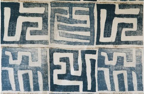 Penny Morrison Upholstery Fabric |  Kenil in Indigo