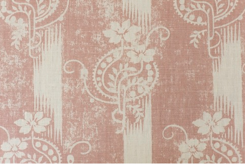 Penny Morrison Upholstery Fabric | Malika in Pink
