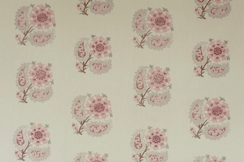 Penny Morrison Upholstery Fabric | Helena in Pink