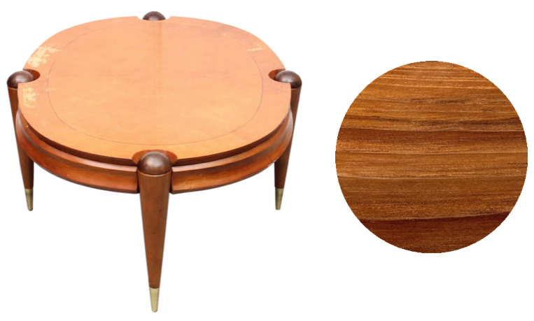 Danish mid century teak side table | Refinish to original condition