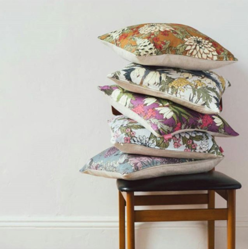 Modern Floral Upholstery Fabric From Abigail Borg