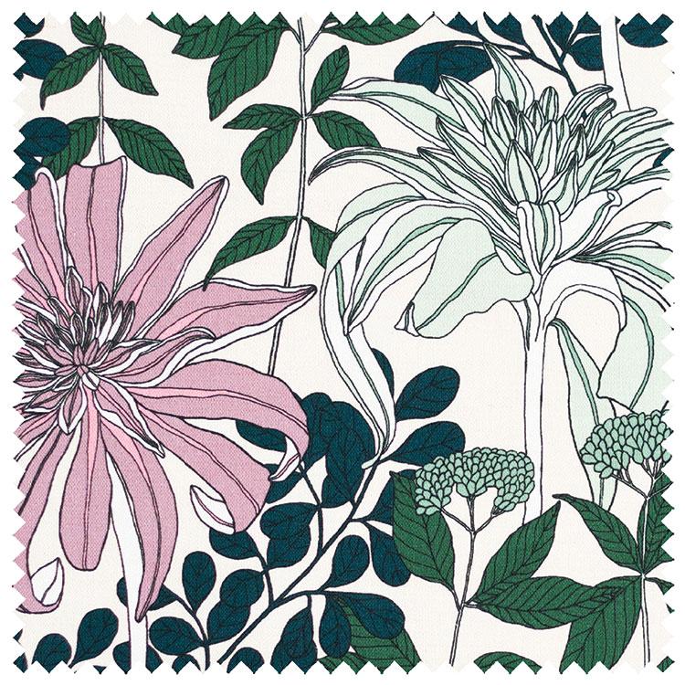 Abigail Borg Mathilda Mint Fabric