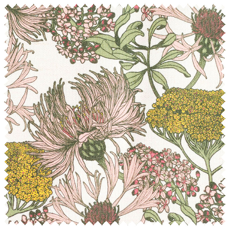 Abigail Borg Hello Yarrow Natural Upholstery Fabric
