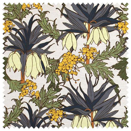 Abigail Borg Friti Slate Upholstery Fabric