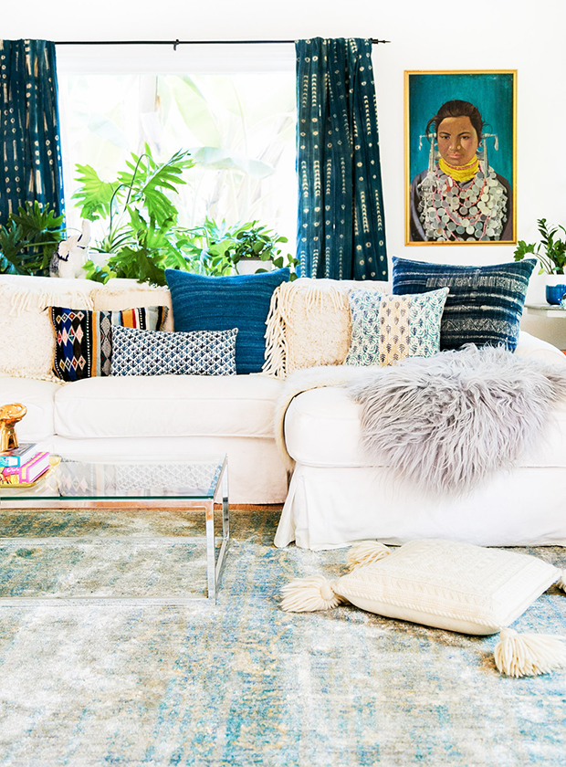 Budget-friendly decor refresh idea: custom pillows