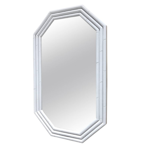 Budget-friendly decor refresh idea: glossy lacquered mirror frames