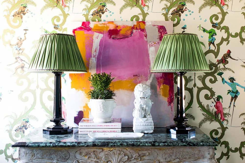 Budget-friendly decor refresh idea: custom lampshades