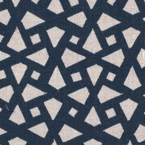 "Alex Conroy Textiles ""Mughal Lattice Small"""