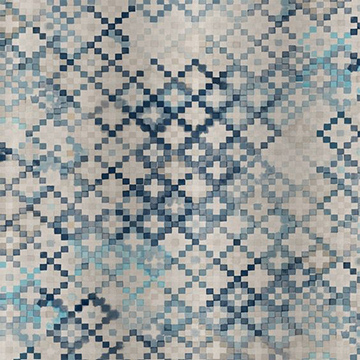 "Quercus & Co ""Tapestry"" in Sea Blue"
