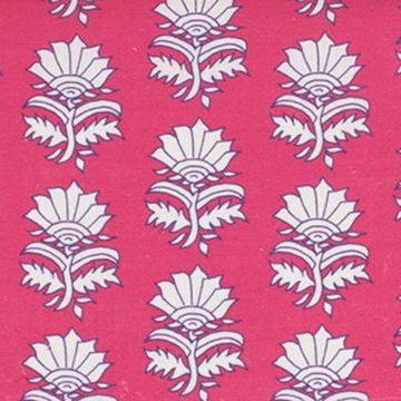 """Alex Conroy Textiles """"White Thistle"""""""
