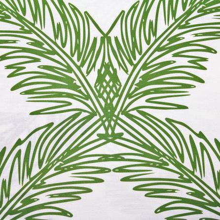 """Victoria Larsen """"Palm Trellis"""" in Fern"""