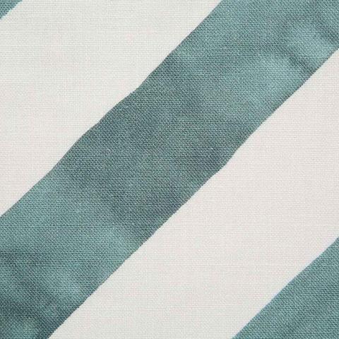 """Rebecca Atwood """"Diagonal Stripe"""" in Lagoon"""