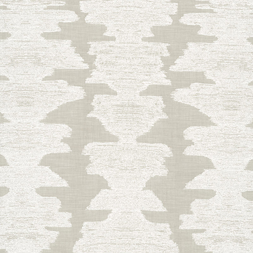 2. 'Ink Blot' in White Sands, by Perennials - Perennials is known for their first class indoor/outdoor fabric selection. We love the subtle yet bold texture of 'Ink Blot' - and we especially love a white fabric that can stand the test of kids and pets indoors.
