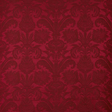 "Dedar ""Pure Damask"" in Bordeaux"
