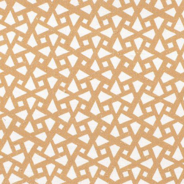 "Alex Conroy Textiles ""Mughal Lattice Small"" in Desert"