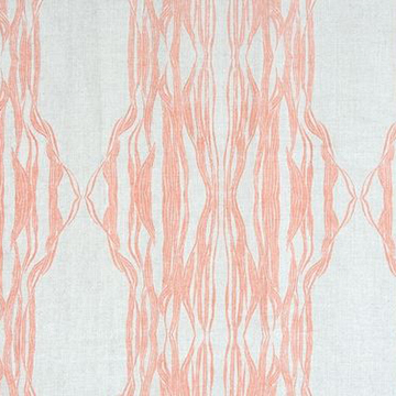 "Fayce Textiles ""Flow"" in Coral"