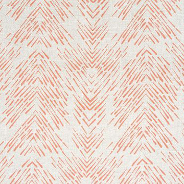 "Fayce Textiles ""Splash"" in Coral"