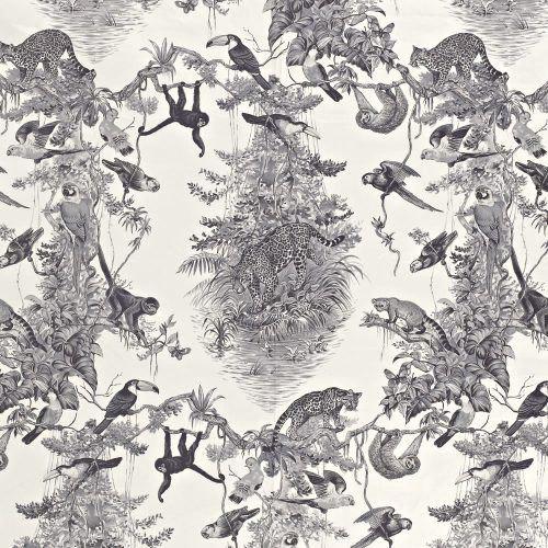 "Hermès ""Equateur Imprimé"" in Graphite"