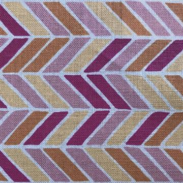 "Alex Conroy Textiles ""Herringbone"" in Fuchsia"