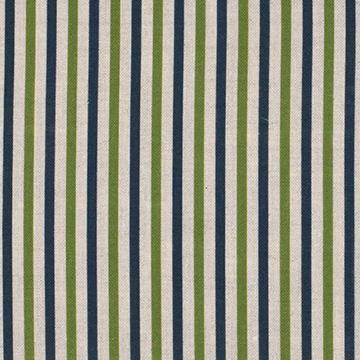 "Alex Conroy Textiles ""Small Stripe"" in Indigo"
